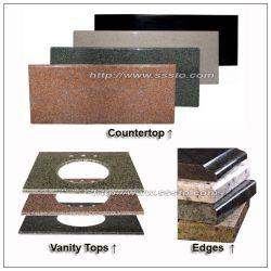 Natürlicher Steingranitu. MarmorCountertop, Eitelkeits-Oberseite für Küche oder Badezimmer