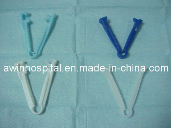 Disposable Medical Sterile Umbilical Cord Clamp for Infant pictures & photos