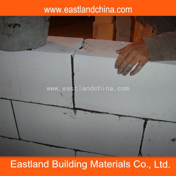 AAC Wall Blocks for Autoclaved Aerated Concrete Block