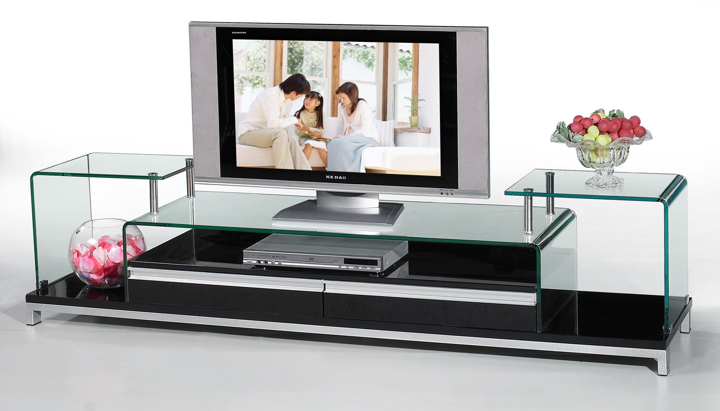 China Tv Stand Glass Furniture Ng052 China Tv Stand