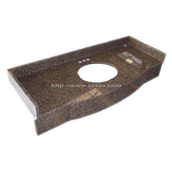 Natural Stone Granite & Marble Countertop, Vanity Top for Kitchen or Bathroom pictures & photos