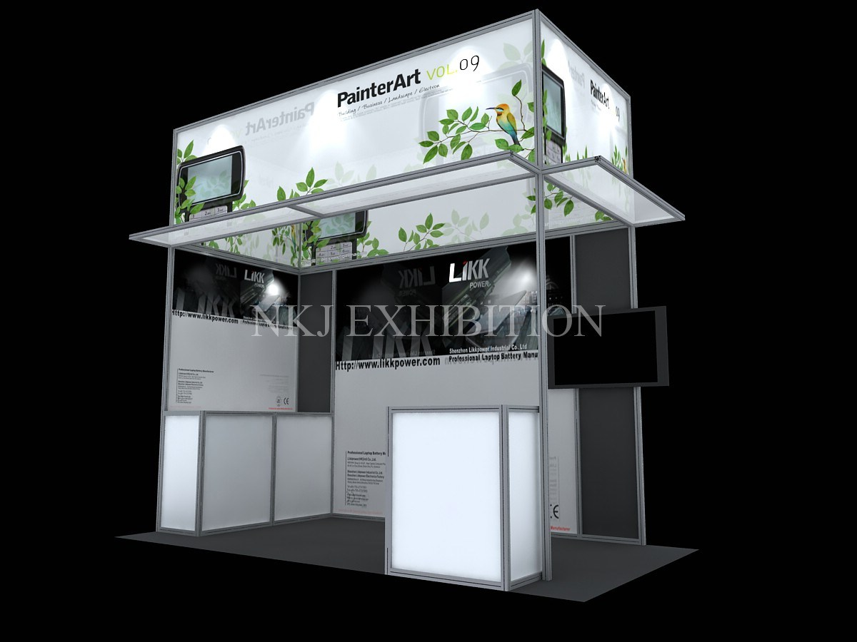 Trade show ordering system