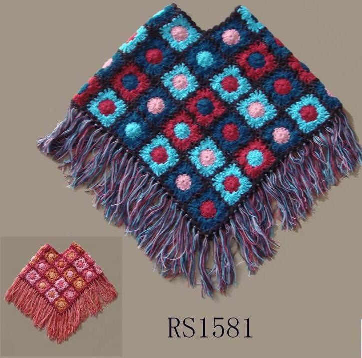 Hand Knitting : China Hand Knitting Shawl for Child (1581) - China Hand Knit Shawl ...