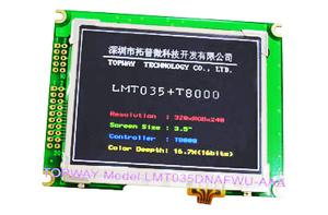 "320X240 TFT LCD Display 3.5"" Qvga LCD Module TFT (LMT035KDH03)"