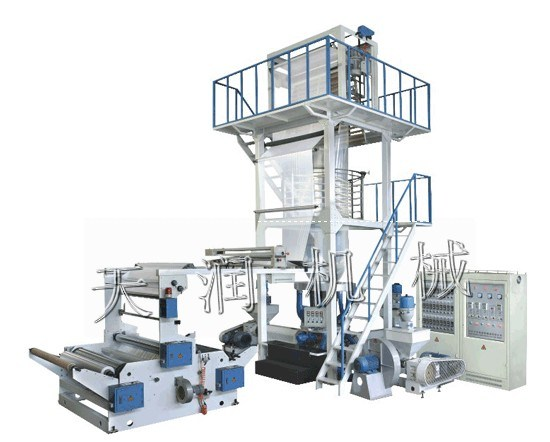 Three-Layer Coextrusion Rotary Die-Head Film Blowing Machine (TR-3L/FB1500)