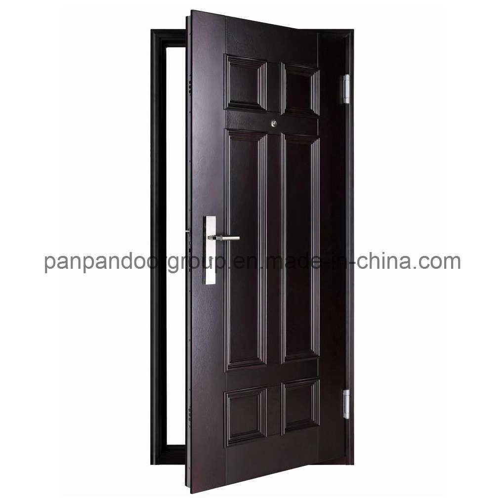 Porte en cuir de s curit de texture de la su de 1d 04p - Porte galvanisee exterieur ...