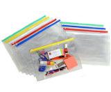 Мешок застежки -молнии PVC, держатель документа