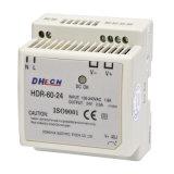 60Wは出力DIN柵の電源を選抜する