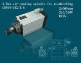 Madera que talla el eje de rotación de Aire-Enfriamiento para la talla de madera (GDF60-24Z/4.5)