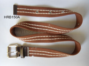 Distinctive Stitching Webbing Belt (HRB150A)