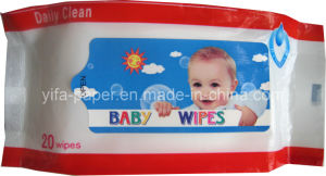 Best Baby Cleaning Wipes, 40GSM Spunlace Non-Woven Baby Wipes (BW-041) pictures & photos