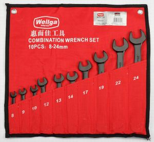10PCS Combination Wrench Set