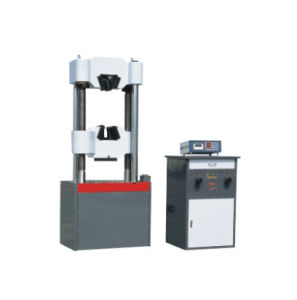 WES-100 Hydraulic Universal Testing Machine UTM pictures & photos