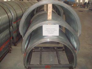 Half Round Corrugated Steel Culvert Pipe Supplied by China Manufacturer