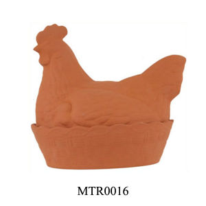 Terra Cotta Chicken Egg Holder (MTR0016)