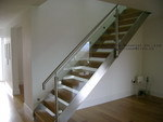 Straight Glass Staircase (9004-21)
