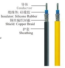 UL Awm 3549 Silicone Rubber Insulated Coaxial Wire pictures & photos