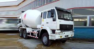 Gold Prince 6X4 Mixer Truck Cement Truck Mixer