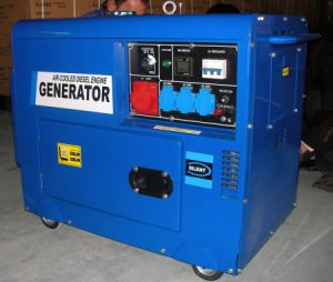 5kw Three Phase Digital Diesel Generator Set with CE