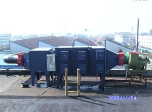 Electrostatic Air Cleaner for PVC Glove and Air Pollution Control (BSG-216)