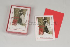 Seasons Greeting Card Set (FK-GC017)