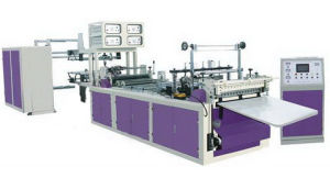 Non-Woven Zipper Bag Making Machine (TR-WFB600Z) pictures & photos