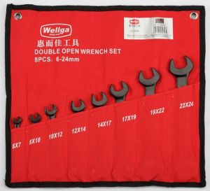 8PCS Open-End Wrench Set