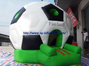 Inflatable Bouncer Combo, Football Fun Land (COM-31)