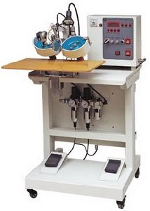 Ultrasonic Hot-Fix Setting Machine (Double Head)