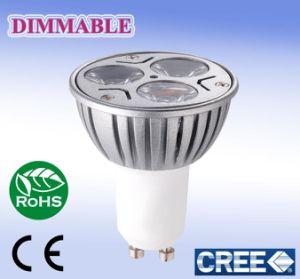 Gu10 3w LED Gu10 LED Gu10 Bulb Dimmable (MS-GU10-3A)