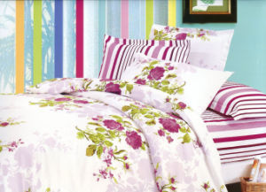 100% Cotton Printed Bedding Sets (YUNXIN-C136)
