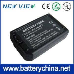 Replaceable Digital Camera Battery En-EL7 for Nikon