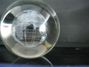 3D Engraving Globe pictures & photos