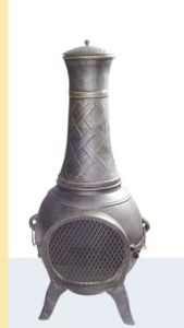 Cast Iron Chiminea Tch017