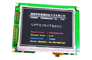"320X240 TFT LCD Display 3.5"" Qvga LCD Module TFT (LMT035KDH03) pictures & photos"