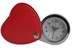 Horloge d'alarme en cuir (KV720)