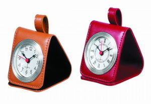 Horloge de voyage en cuir (KV709)