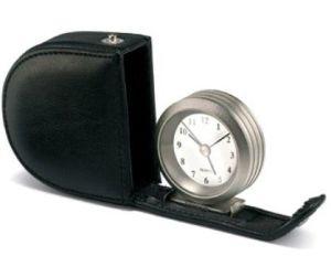 Horloge de voyage de Learther (KV730)